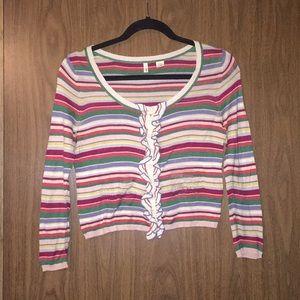 Moth striped sweater